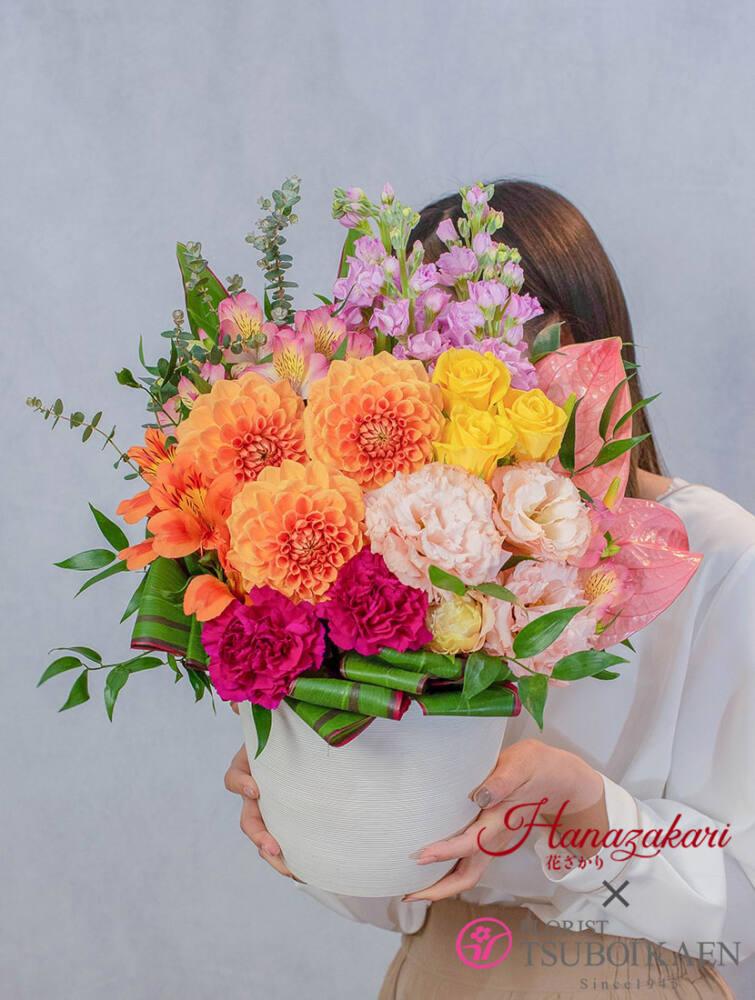残暑見舞いには爽やかなお花で涼をお届け 花言葉で伝える感謝の気持ち